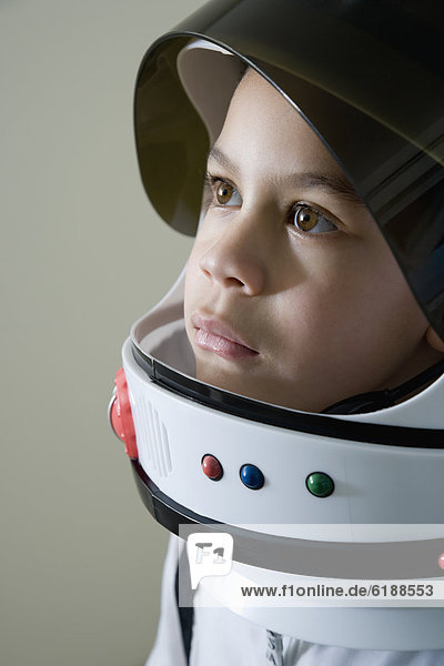 Junge - Person  mischen  Kostüm - Faschingskostüm  Astronautin  Mixed