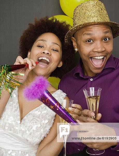 Party Hut Neujahrstag