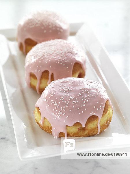pink  Donut  Zuckerguß