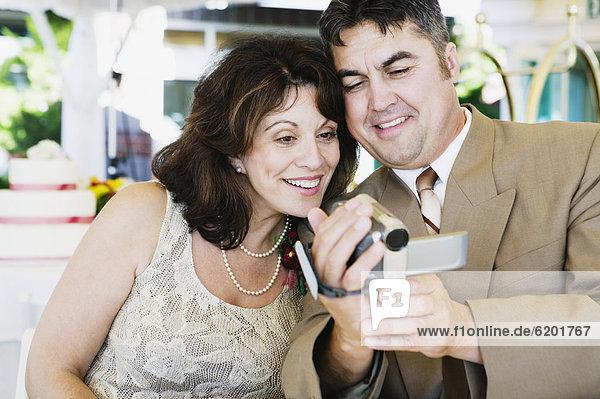 sehen  Hochzeit  Camcorder  Blockflöte