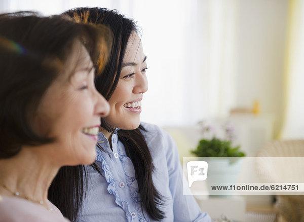 lächeln  Tochter  Mutter - Mensch  japanisch