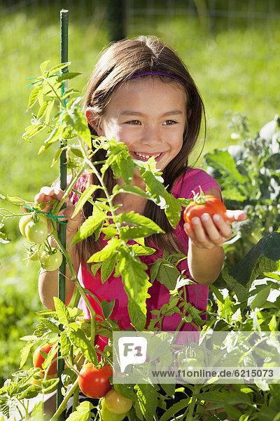 mischen Gartenbau Mädchen Mixed
