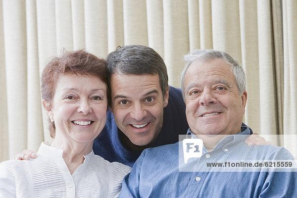 lächeln  Sohn  Menschliche Eltern  Hispanier  Erwachsener