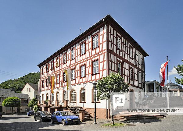 Rathaus Europa Deutschland Hessen Lorch Stadthalle