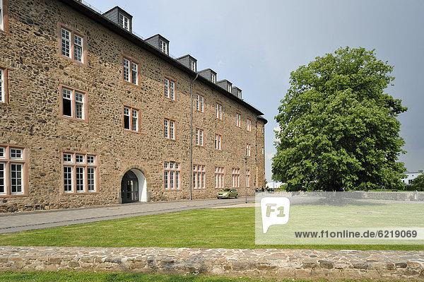 Rathaus im Landgrafenschloss  Butzbach  Hessen  Deutschland  Europa