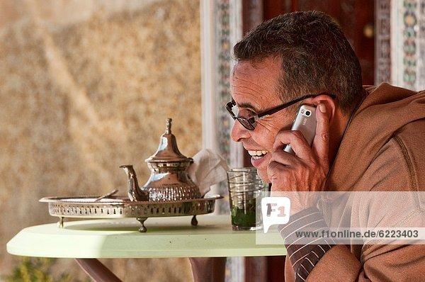 Fès  Fez  Telefon  antik  Marokko  Tee
