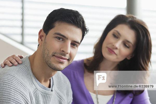 Nahaufnahme eines Paares
