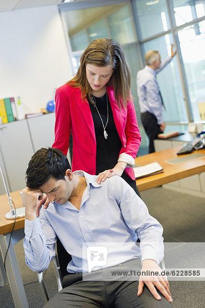 Führungskräfte im Büro