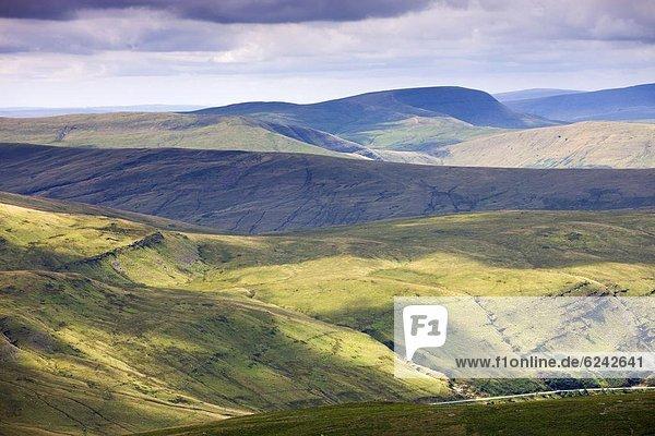 Europa  Großbritannien  Brecon Beacons National Park  Powys  Wales