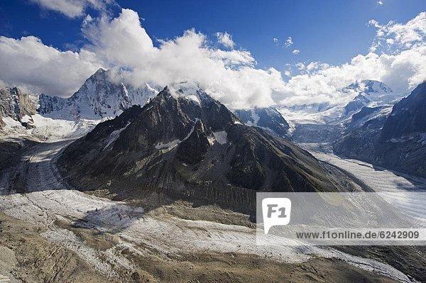 Frankreich  Europa  Französische Alpen  Chamonix
