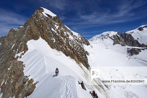 Frankreich  Europa  Französische Alpen  Richtung