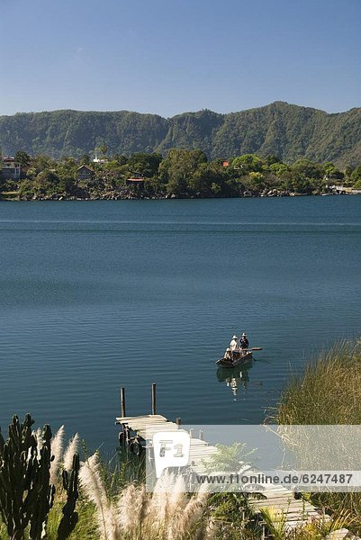 klein See Boot Mittelamerika Fischer Guatemala