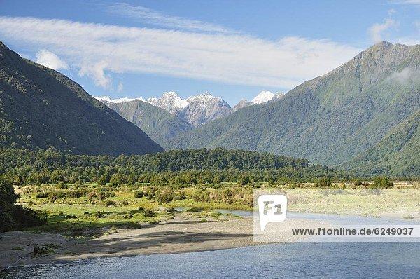 Pazifischer Ozean  Pazifik  Stiller Ozean  Großer Ozean  neuseeländische Südinsel  Neuseeland  Westküste