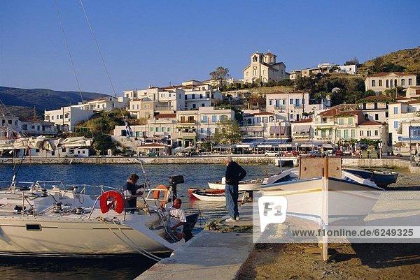 Europa Kykladen Griechenland