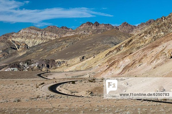Artist's Drive  Death Valley National Park  California  United States of America  North America