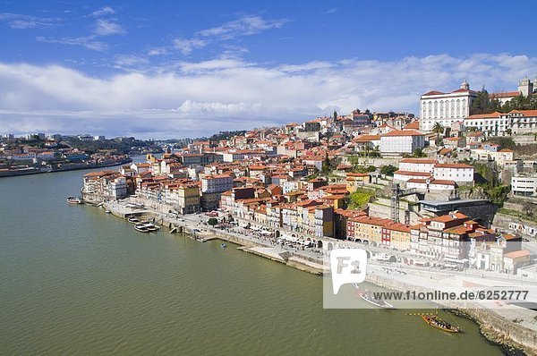 Old town of Oporto  UNESCO World Heritage Site  Portugal  Europe