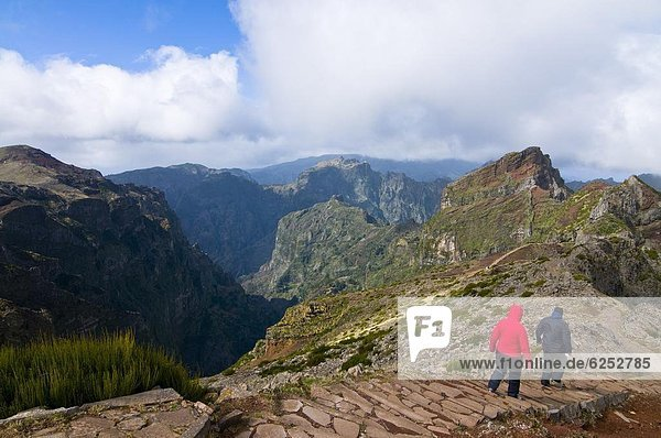 Europa  Tourist  wandern  Madeira  Portugal