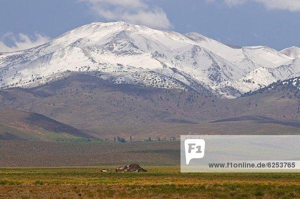 Nordafrika hoch oben Hütte Einsamkeit Afrika Marokko