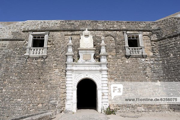 Eingang  Festung  bauen  UNESCO-Welterbe  Afrika  Mosambik