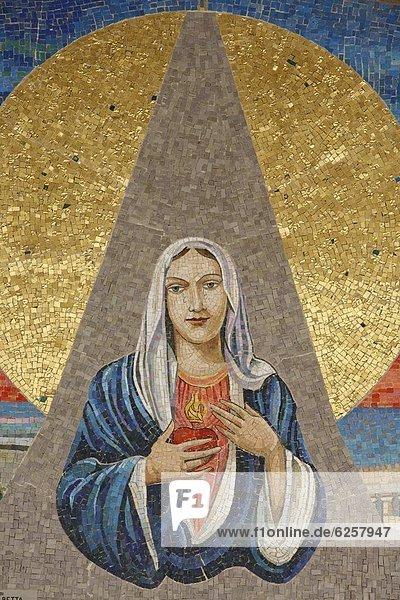Naher Osten  Regenwald  Israel  Italienisch  Mosaik