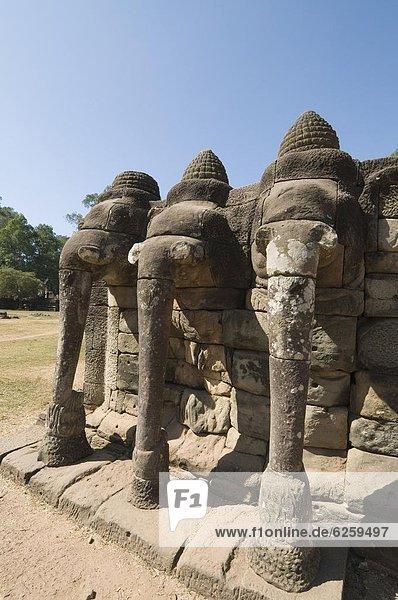 Südostasien  UNESCO-Welterbe  Angkor  Angkor Thom  Asien  Kambodscha  Siem Reap