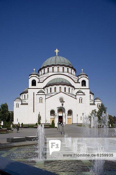 Europa  Kathedrale  russisch orthodox  russisch-orthodox  Serbien