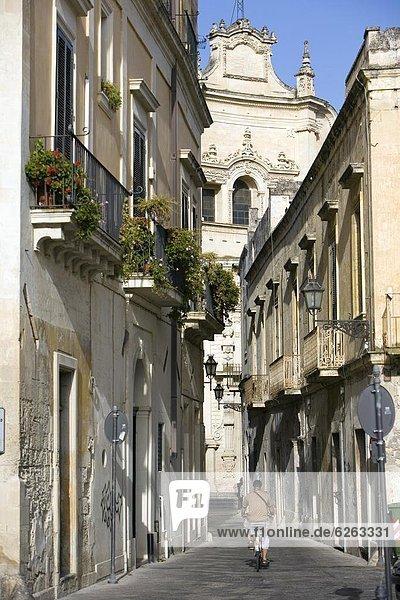 Europa  Altstadt  Apulien  Italien  Lecce