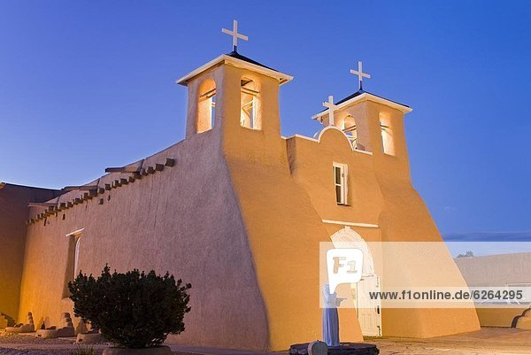 St. Francis of Asis Church in Ranchos de Taos  Taos  New Mexico  United States of America  North America