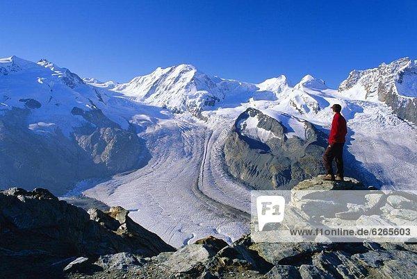 Europa  Ansicht  Schweiz  Zermatt
