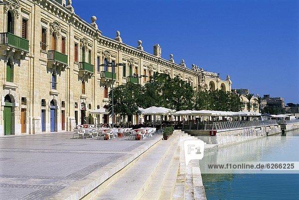 Valletta Waterfront  Valletta  Malta  Mediterranean  Europe