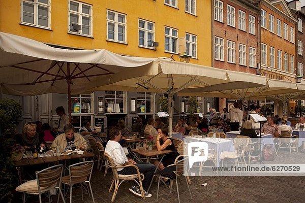 Europa  Restaurant  Dänemark  Kopenhagen  Hauptstadt  Nyhavn  Skandinavien