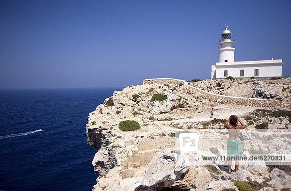Europa Menorca Balearen Balearische Inseln Spanien