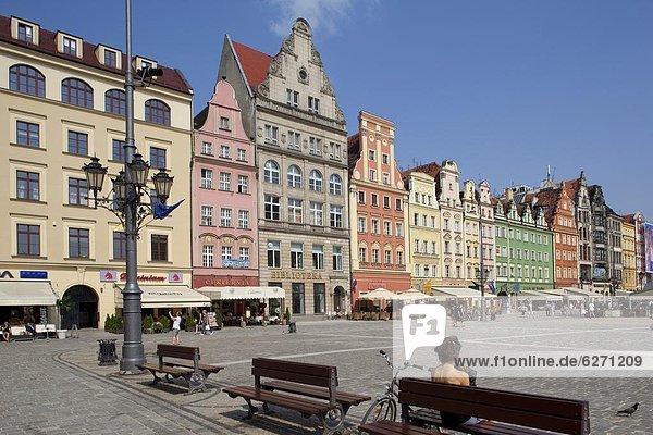 Europa  Altstadt  Polen  Breslau
