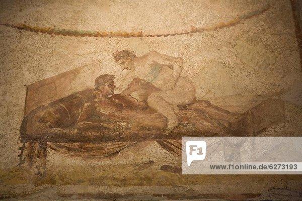 Europa  Geheimnis  UNESCO-Welterbe  Kampanien  Italien  Villa