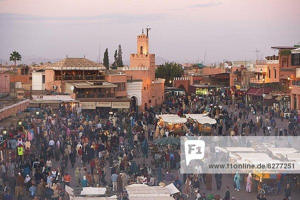 Nordafrika  über  Ansicht  Erhöhte Ansicht  Aufsicht  heben  Afrika  Marokko