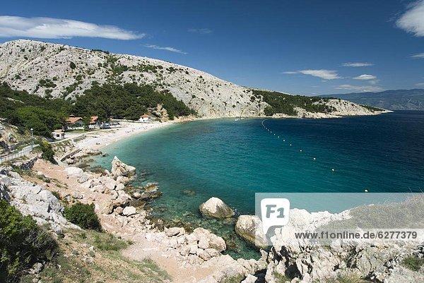 Europa Adriatisches Meer Adria Baska Kroatien