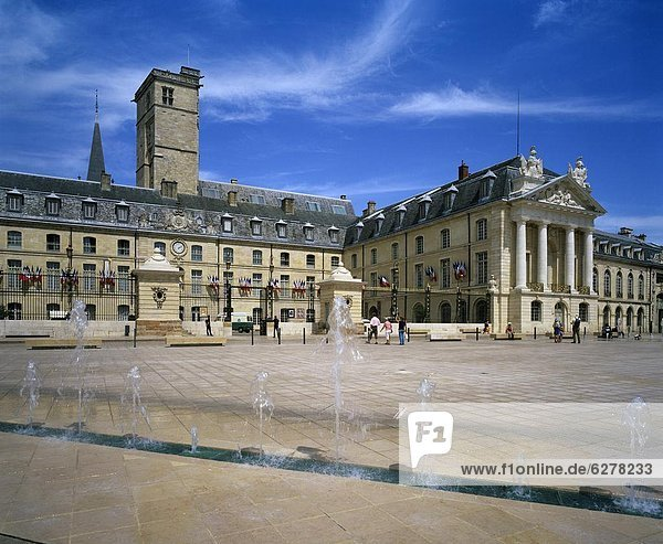 Palais des Ducs (Palace of the Dukes of Burgundy)  Dijon  Burgundy  France  Europe