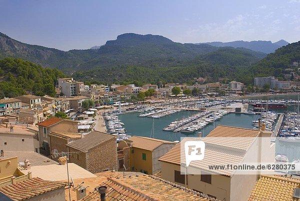 Old Town  Soller  Mallorca  Balearic Islands  Spain  Mediterranean  Europe