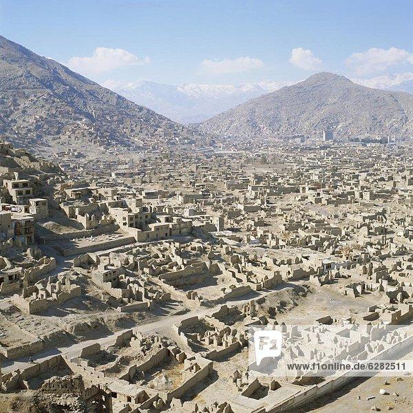 Kabul Hauptstadt Krieg Zusammenbruch Afghanistan