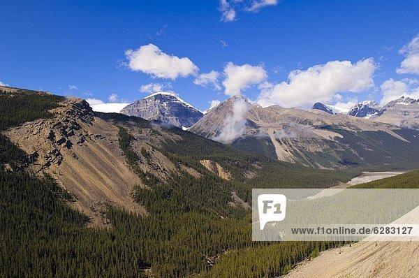 Nordamerika  Rocky Mountains  Jasper Nationalpark  UNESCO-Welterbe  Alberta