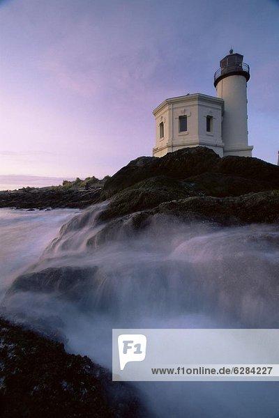 Vereinigte Staaten von Amerika  USA  Leuchtturm  Nordamerika  Oregon