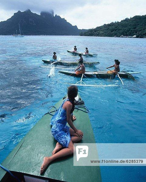 angeln  Pazifischer Ozean  Pazifik  Stiller Ozean  Großer Ozean  Bora Bora  Französisch-Polynesien  Gesellschaftsinseln