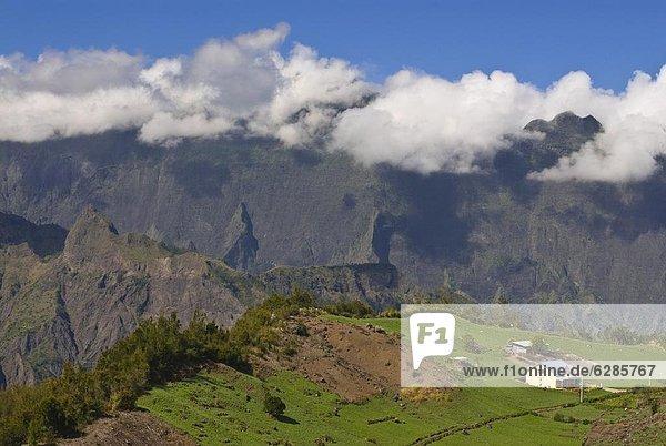 Wohnhaus klein Afrika La Reunion