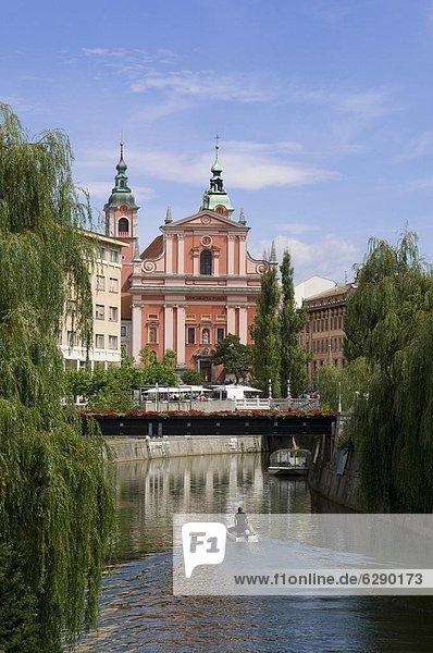 Ljubljana  Hauptstadt  Europa  Slowenien