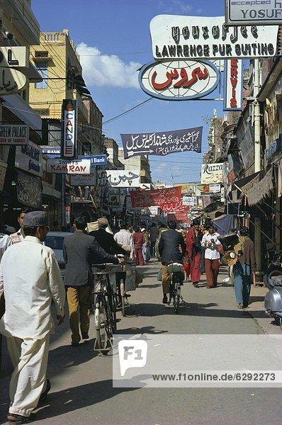 Städtisches Motiv Städtische Motive Straßenszene Straßenszene Asien Lahore Pakistan Punjab