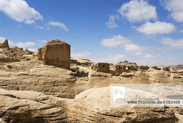 zwischen  inmitten  mitten  Baustelle  Naher Osten  Petra