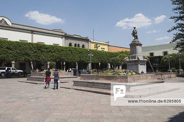 Stadtplatz Nordamerika Mexiko