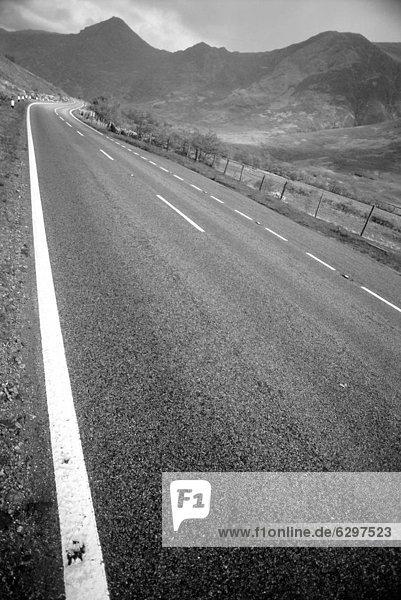 Großbritannien  Fernverkehrsstraße  Schottland