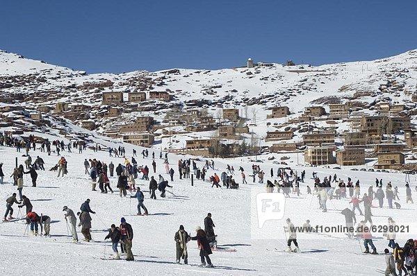 Nordafrika Ski Marokko