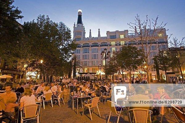 Madrid  Hauptstadt  Europa  Spanien